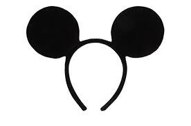 mouse ears black
